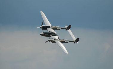 P-38 silver